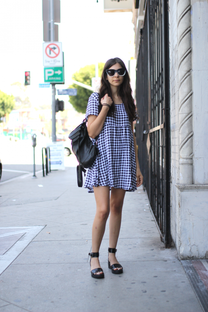 American Apparel, dress, Echo Park, glasses, Los Angeles, Shoes, street style, Zara