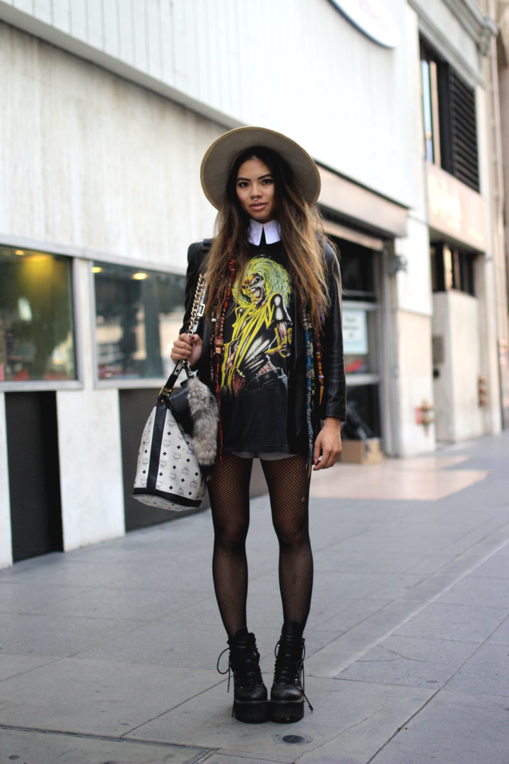 street style, American Apparel, Deandri, Downtown, MCM, Mstr of Disguise, Stetson, UNIF, Vintage