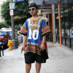 dashiki, dimepiece, Downtown, dtla, glasses, skingraft, street style, tattoos, top, UNIF
