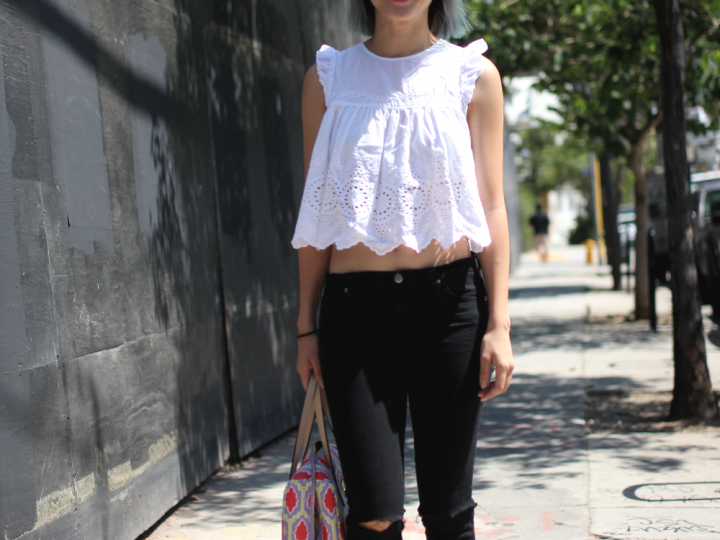 Aldo, Arts District, Bag, Blouse, Forever 21, Hair, Kate Spade, Pink, street style, Zara