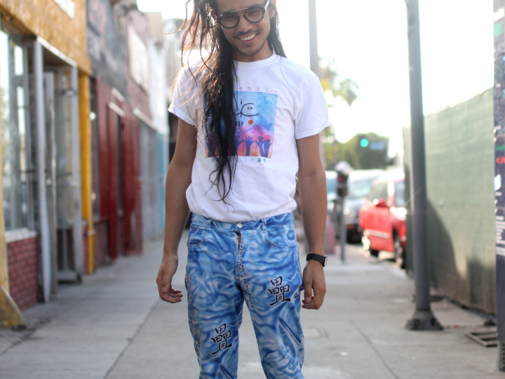 Band Tee, Eagle Rock, glasses, Korea, street style, Vintage
