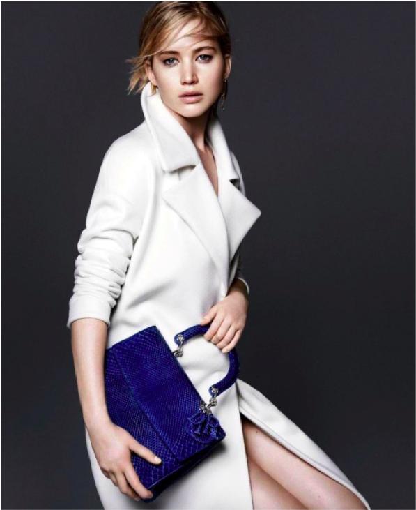 Jennifer Lawrence for Dior F:W 15....