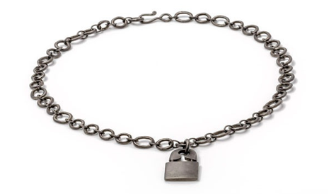 Jillian Dempsey Punk Lock Necklace, $1,750