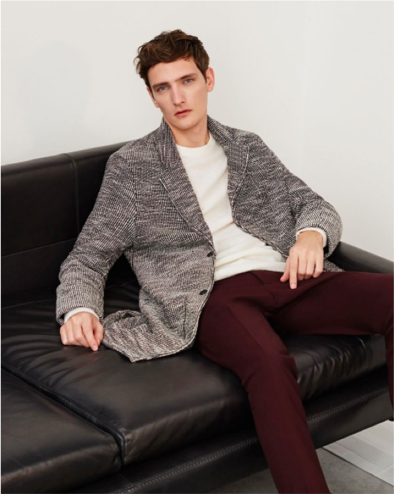 Zara recently released its autumn winter 2015 editorial featuring the  latest fall fashion trends for men. Model Yannick Abrath stars in a series  of images ... be4630f9216