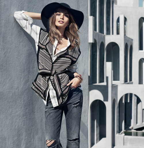 H&M's Boho-Cool Winter Fashion Lookbook