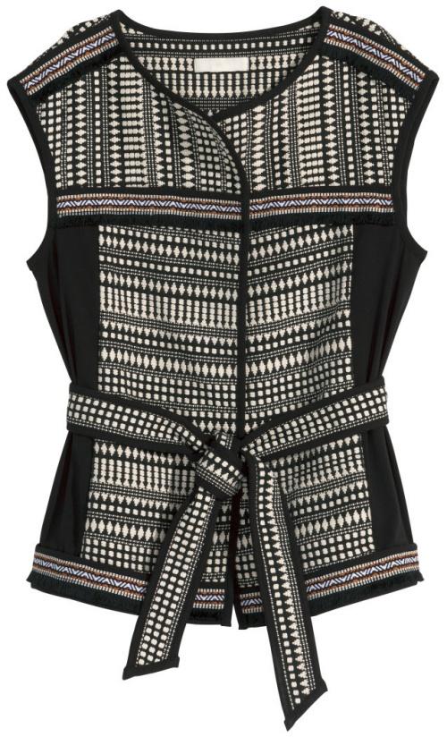 H&M Jacquard-Knit Vest