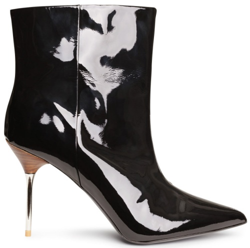 H&M Patent Leather Ankle Boots