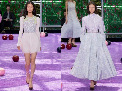 Christian Dior Fall 2015 Couture Dress and Belt