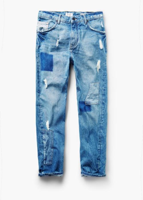 Loose-Fit Light Wash John Jeans
