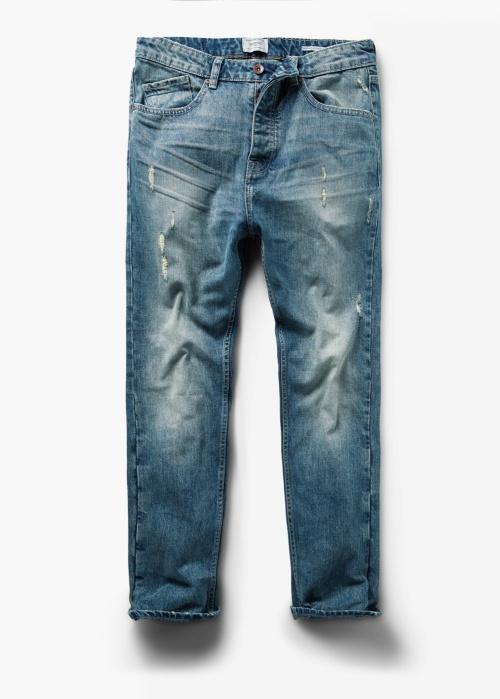 Loose-Fit Dark Vintage Hopper Jeans