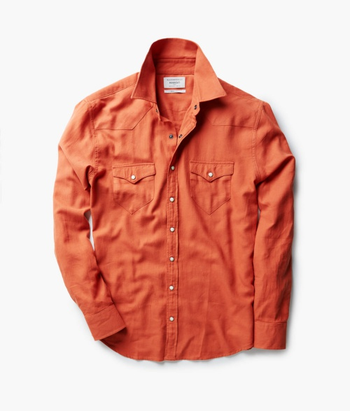 Slim-Fit Flannel Overshirt