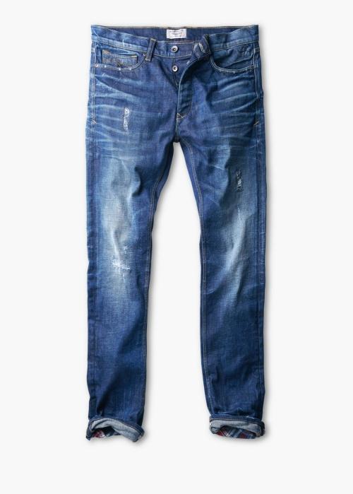 Straight-Fit Medium Wash Marc Jeans
