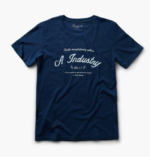 Printed Text T-Shirt