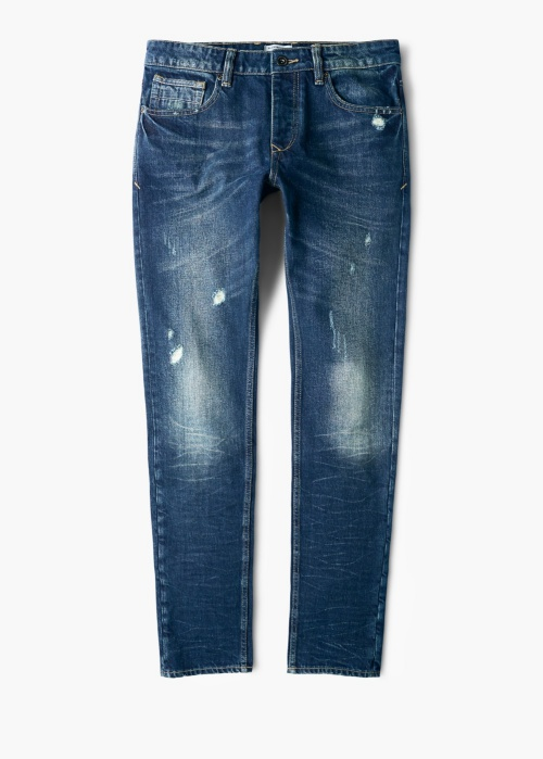 Slim-Fit Dark Wash Steve Jeans