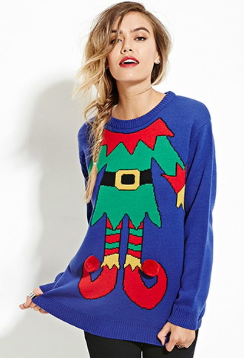 Get Into The Festive Spirit With Ugly Holiday Sweaters From