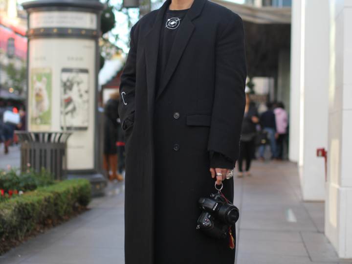 kplr, rick owens, street style, The Grove, vestments