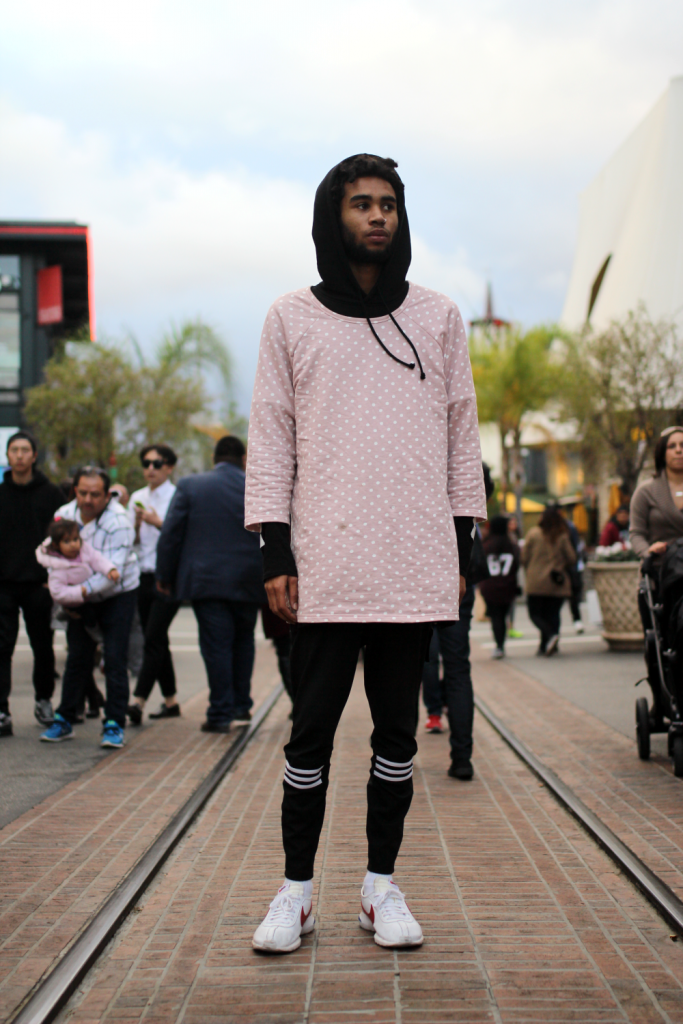 Adidas, Nike, street style, The Grove