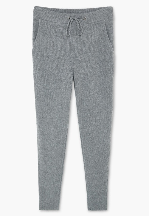 Wool-Blend Jogging Trousers