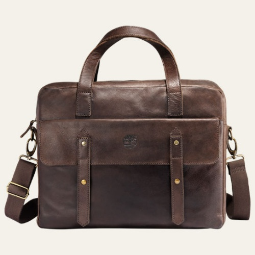 Adkins Leather Briefcase