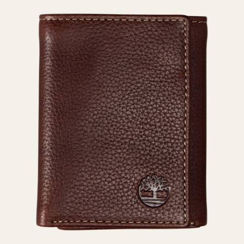 Black River Tri-Fold Leather Wallet