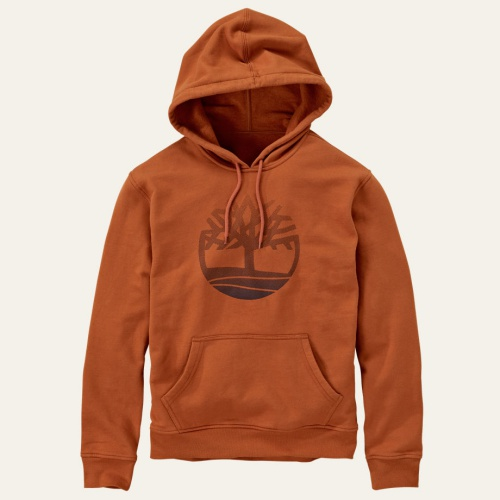 Men's Pine River Tree Logo Hoodie