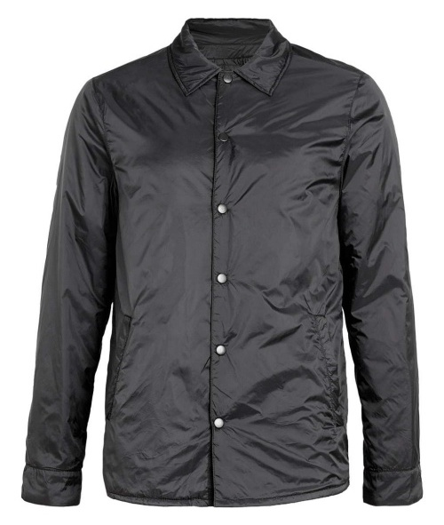 Black Nylon Reversible Liner Jacket