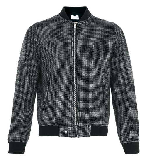 Dogtooth Bomber Jacket