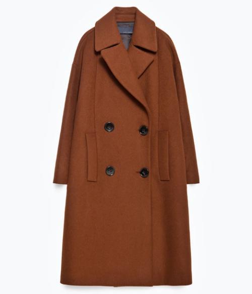 Studio Double Breasted Coat
