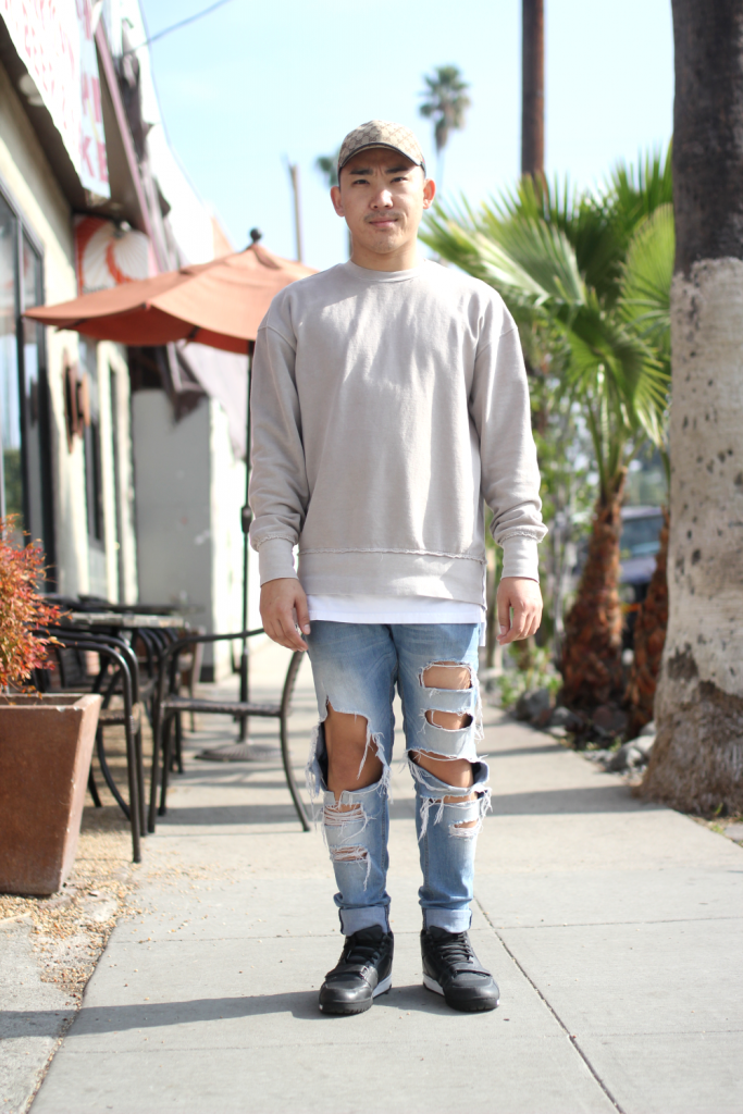DIY, gucci, keeping ny everywhere, Nike, silverlake, street style, stylist, vetements, Vintage