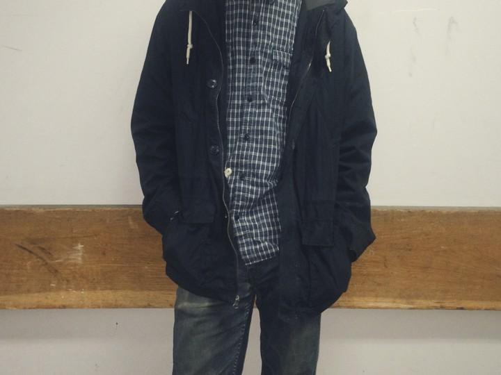 Adam McVicker, 21 Men (Forever 21), 511 Slim Fit Jeans (Levi's), Clarks, Merona (Target), street style