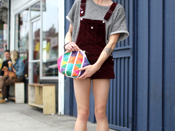 Echo Park, Quincy, street style, Thrifted, Vintage