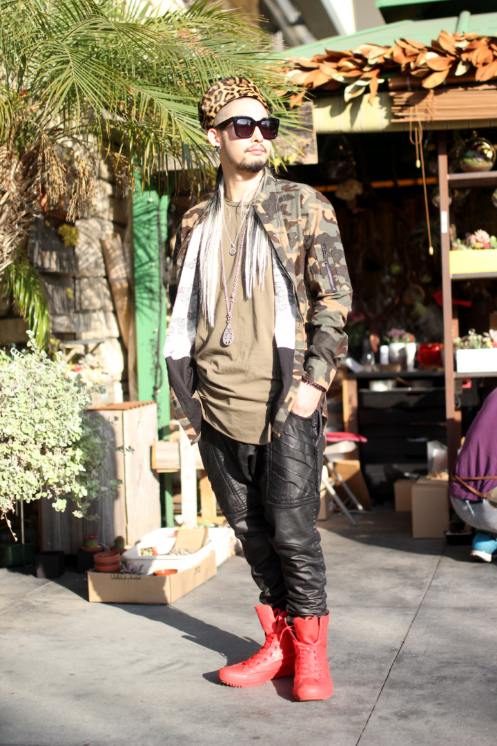 Celine, Converse, street style, The Grove, unknown ny, Vintage, Yusuke, Zara