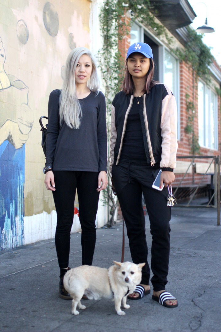 Arts District, chanel, dries van noten, Justine, luv minimal, Michelle, Nike, opening ceremony, rei, street style, Zara