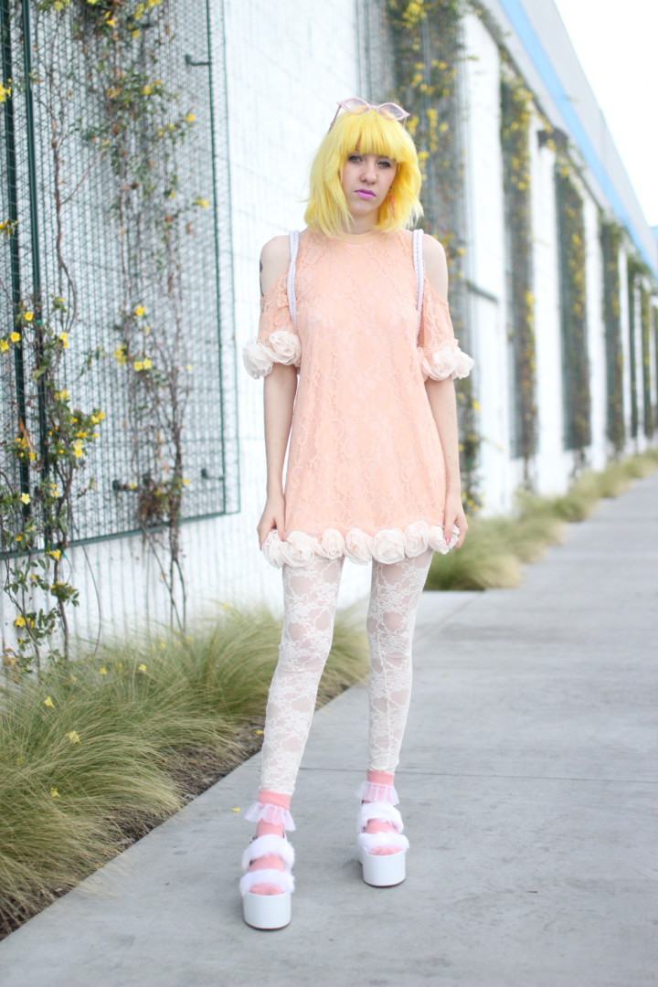 80's, American Apparel, street style, japantown, Jeffrey Campbell, shibuya, spank!, Vintage, Orchid