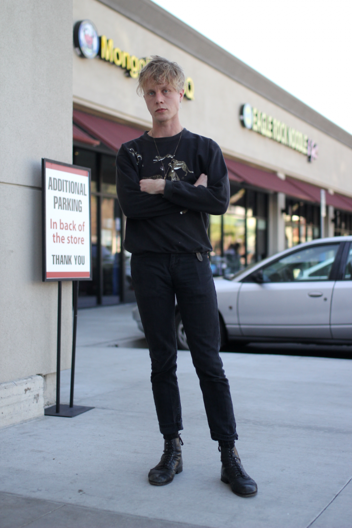 street style, Eagle Rock, levi's, pugs, stacy adams, Brady, Vintage