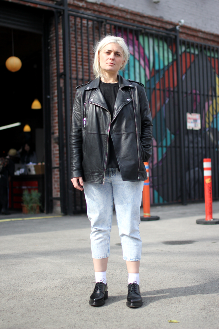 abril barret, acne, allison lou, Arts District, street style, the squad, Vintage