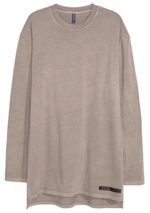 Oversized Long-Sleeved T-Shirt
