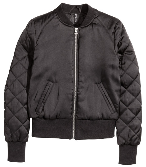 Pilot Jacket in Black
