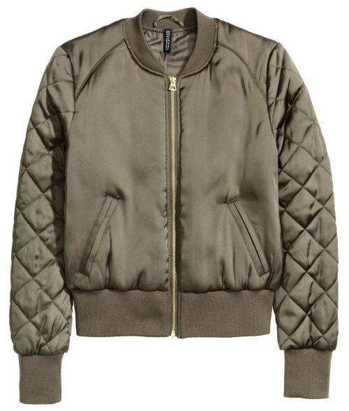 Pilot Jacket in Khaki Green