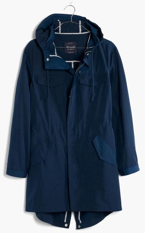 Hooded Fielder Anorak Jacket