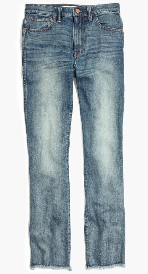 Cali Demi-Boot Jeans in Essex Wash