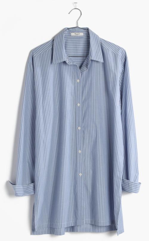 Streetview Tunic Shirt in Stripe