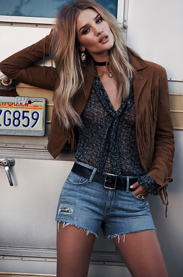 Paige Denim Spring/Summer 2016 Advertising Campaign