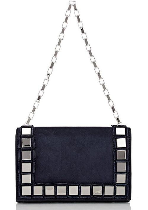 Tomasini Paris Studded Shoulder Bag