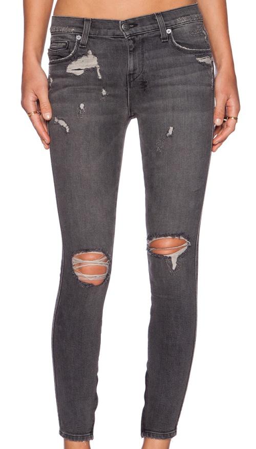 Ksubi Spray On Jeans in Carbon Black