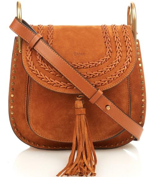 Chloe Hudson Suede Crossbody Bag