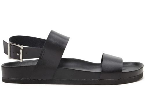 Men Faux Leather Sandals