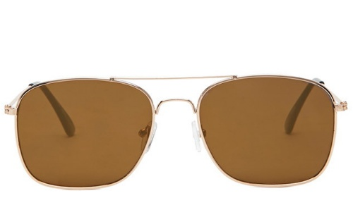 Men Mirrored Aviator Sunglasses