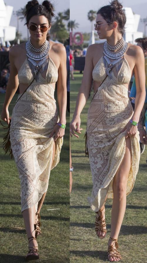 Kendall Jenner Serves Three Coachella Looks - Qunel.com - Fashion beauty and lifestyle.