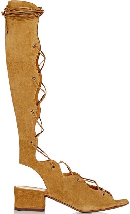 Saint Laurent Babies Gladiator Sandals